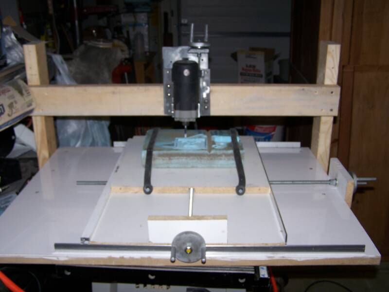 CNC ROUTER table home made